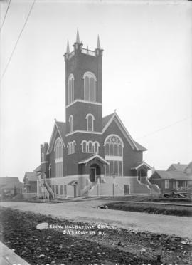 South Hill Baptist Chuch, S[outh] Vancouver, B.C.