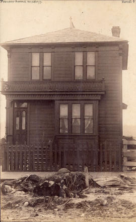 [Exterior of house - 1344 Seymour Street]