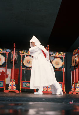 Kang Sun Young's Dancers performance during the Centennial Commission's Canada Day celebrations