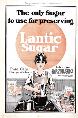 The only sugar used for preserving, St. Lawrence Sugar
