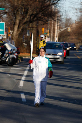 Day 020, torchbearer no. 129, Donna A - Halifax