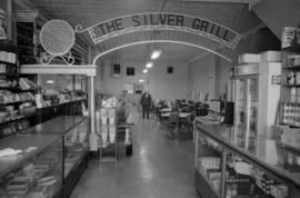 Interior of the Silver Grill Café in Fort McLeod, Alberta