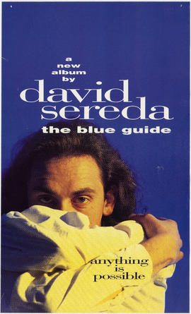 A new album by David Sereda : the blue guide : anything is possible