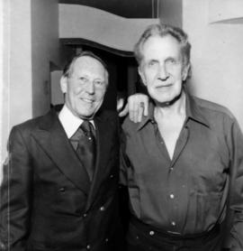 Hugh Pickett and Vincent Price