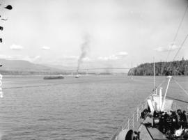Entering Vancouver Harbour