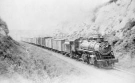[G. N. R. Steam Freight Eng. #3306 and train]