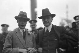H.R.H. Prince of Wales with Mayor Gray
