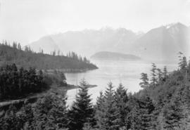 [Scenic view of Howe Sound]