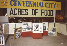 "1971 P.N.E. ""Centennial City - Acres of Food"" exhibit, P.N.E. Forum"