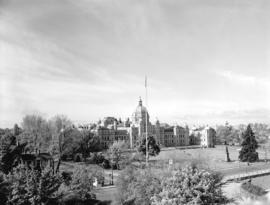 [View of] Parliament Buildings, Victoria, B.C.