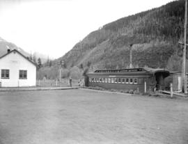 Hope B.C. Station [and railcar restaurant]