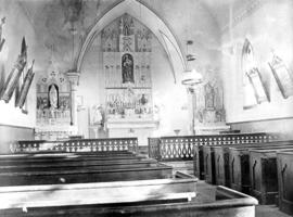 Interior [of St. Paul's] Catholic Church, Vancouver
