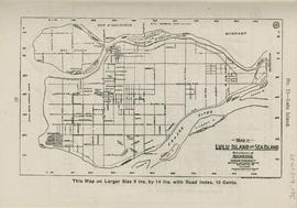 Sectional map and street directory of Vancouver, British Columbia : map of Lulu Island and Sea Is...
