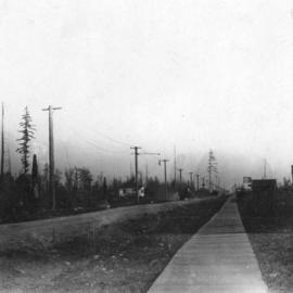[View of Main Street looking north from about 64th Avenue]