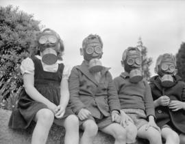 A.R.P. children's gas mask [demonstration]