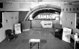 Felt and Textiles of Canada display of Rambow floor covers