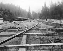 [Reconstruction after the Seymour Creek washout]