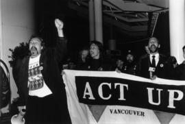 Act up [John Kozachenko far right]