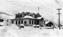[The Municipal Hall in Lynn Valley District of North Vancouver]