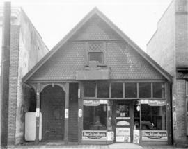 [Exterior of Maisie's Dairy Lunch - 773 Beatty Street]