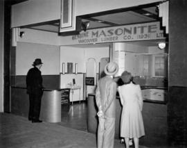 Vancouver Lumber Co. display of Masonite products