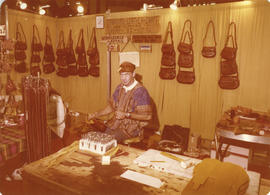 Canadian Leather Craft display booth