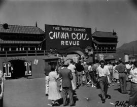 Entrance to China Doll Revue in P.N.E. Gayway
