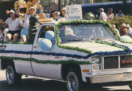 Greater Vancouver Convention and Visitor Bureau parade vehicle