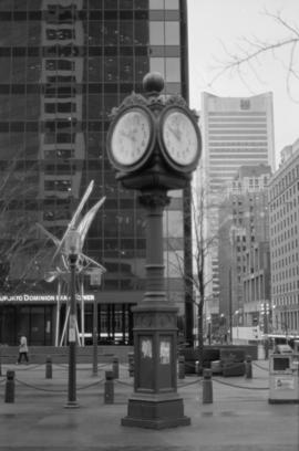 Birk's Clock [Granville Street at West Georgia]