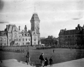 47th Batt[alion] at Ottawa, Nov[ember] 1915