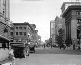 [View of Hastings Street, looking east from Granville Street]
