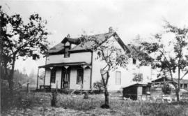 [Exterior of Alexander Mitchell's residence on Mitchell Island]