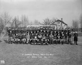 St. George's School Wolf Cub Pack - Spring Term 1941