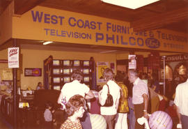Westcoast Furniture and Television display booth