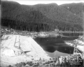 Coquitlam Dam from 2300.0 on 9th Aug. 1913