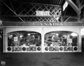 Swift Canadian Co. display of food products