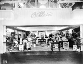 B.C. Electric display of electrical appliances