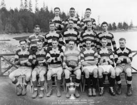 Vancouver Rowing Club Intermediate Rugby Team, City and Provincial Champions, 1922-23