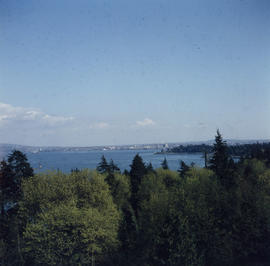 [View looking south from Stanley Park]