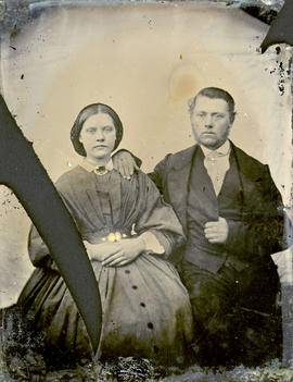 Mary McCleery and brother Samuel McCleery
