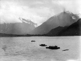 [View of] Bella Coola [from the water]