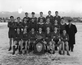 Lord Byng High School Rugby Team - High School Senior Champions 1933 - Winner of New Zealand Shield