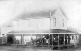 [J.W. Berry's store near Murrayville]