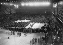 29th Battalion return - reception at arena