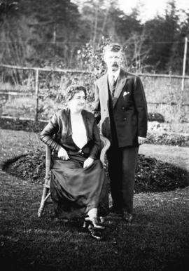 Mr. Reed and wife - Stanley Park