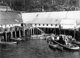 [Cannery from the water]