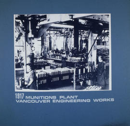 Munitions plant, Vancouver Engineering Works