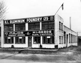 [Exterior A.1. Aluminum Foundry Ltd. building (29 West 3rd Avenue)]