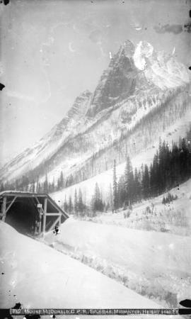 Mount McDonald [MacDonald], C.P.R., Selkirks, midwinter, height 9440 ft.