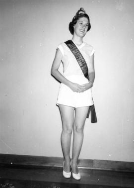 Portrait of Miss Campbell River 1954